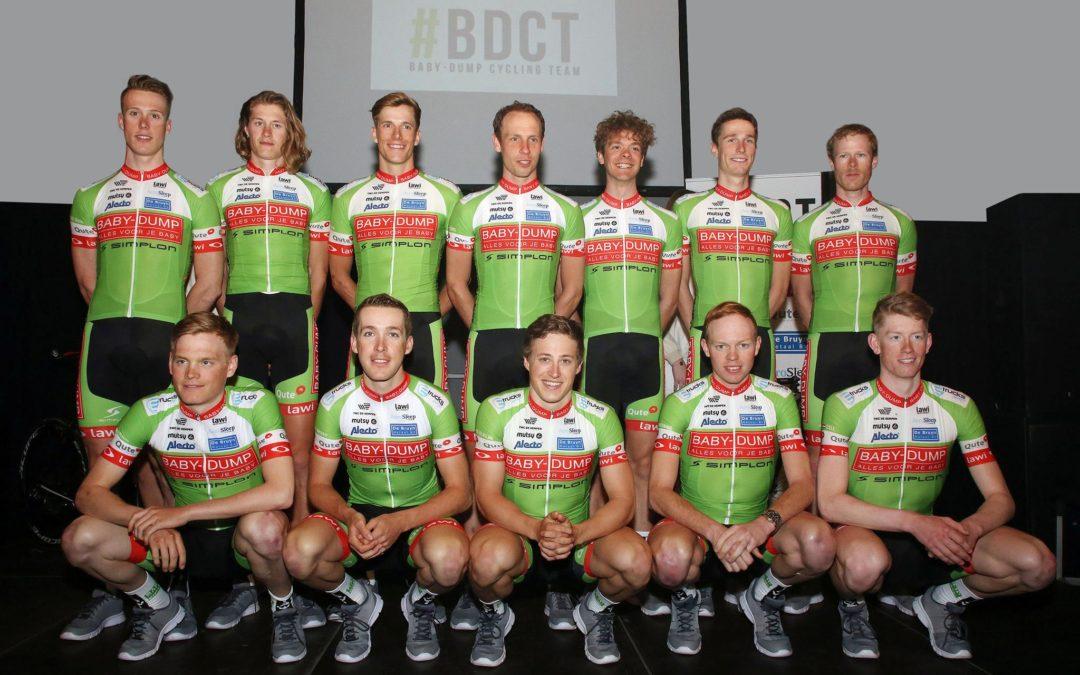 De ploegen voorgesteld: Baby-Dump Cycling Team