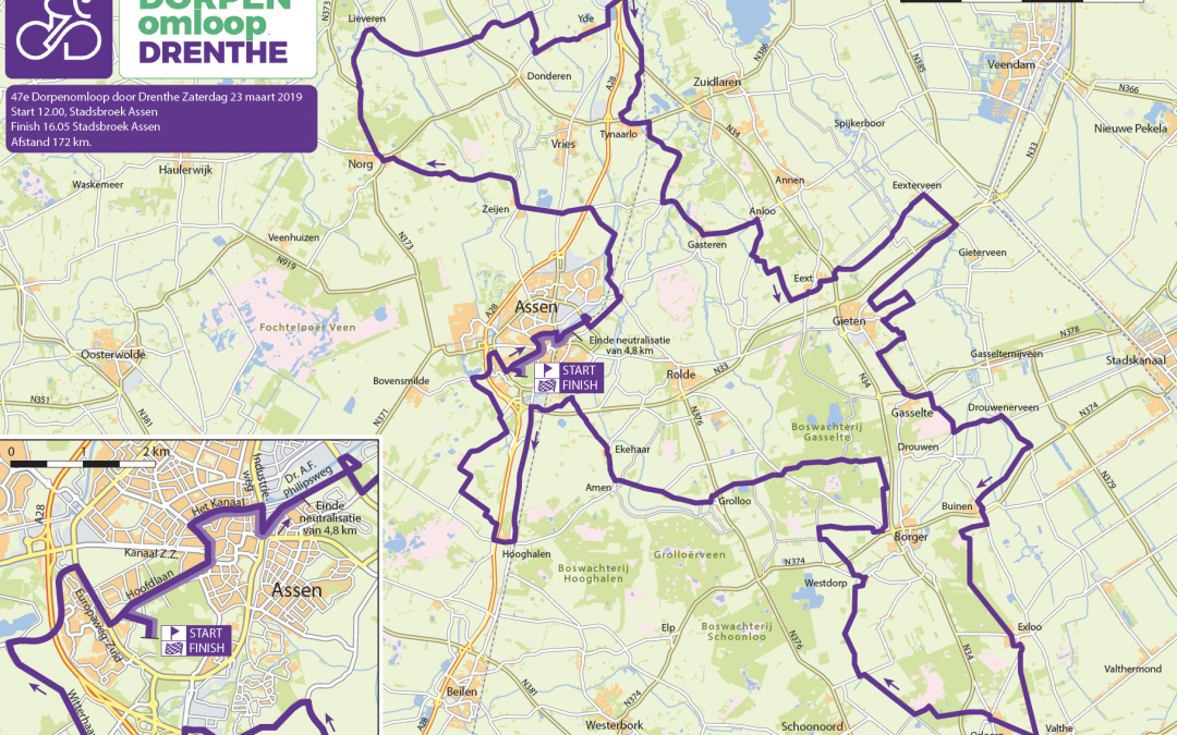 Route Dorpenomloop 2019